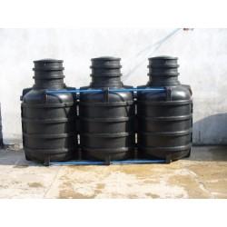 Przydomowa oczyszczalnia ścieków 3,6m³ dla 4-5 osób (SBR - Sekwencyjny Biologiczny Reaktor)