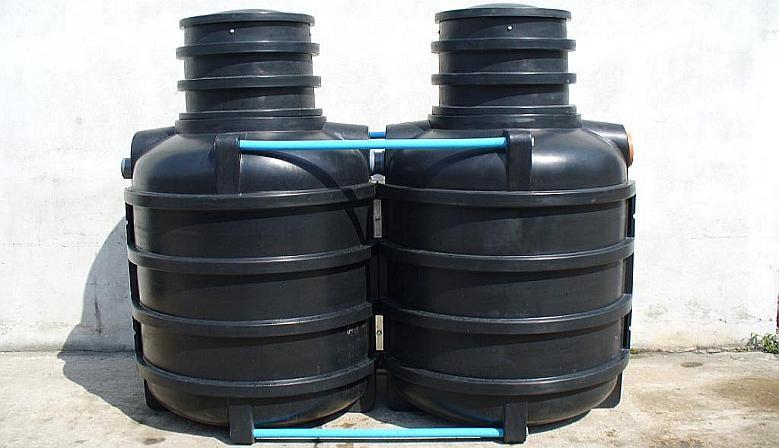 Oczyszczalnia 2400l - dwukomorowa (2,4m3)